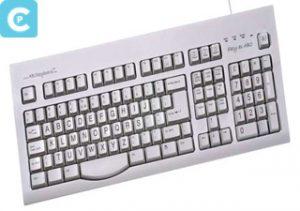 Keyboard Alphabetik