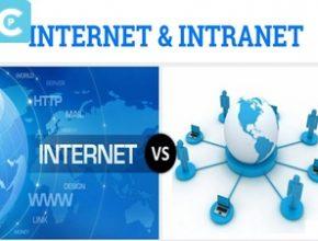 intranet vs internet